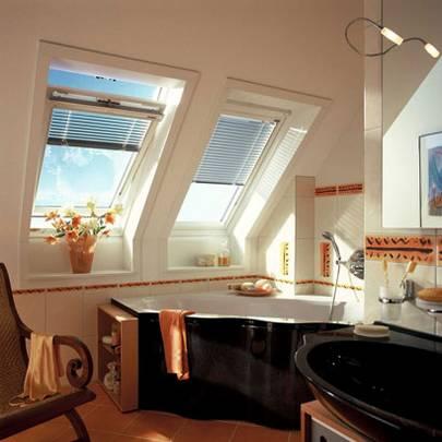Badezimmer mit dachfenster  Dachfenster Galerie