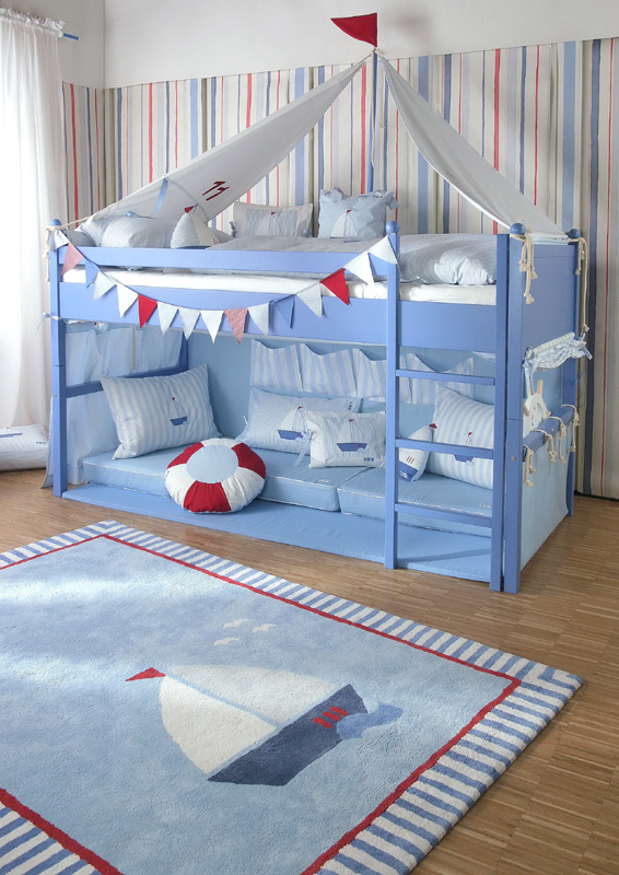 Farbgestaltung blau galerie 2 - Kinderzimmer 3 jahrige ...