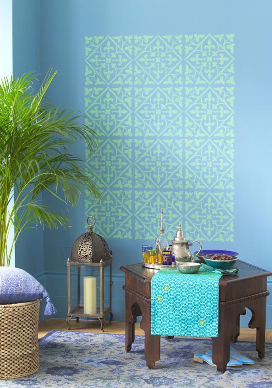 Farbgestaltung blau galerie 2 - Orientalische wandgestaltung ...