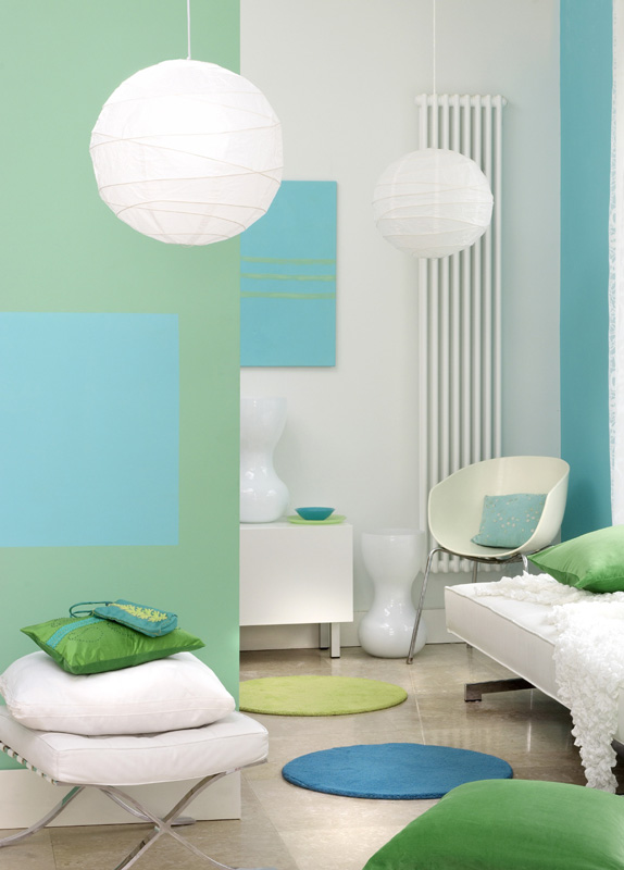 farbgestaltung blau galerie