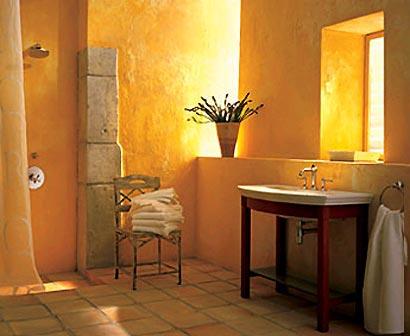 Farbe ambiente wohnideen wandgestaltung for Wandgestaltung im bad