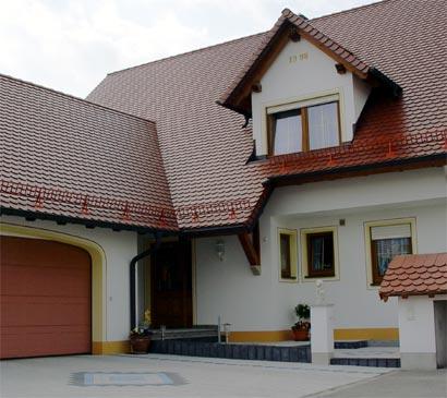 Hausbau Details Dach Garagen Fassade Treppen Dachschmuck