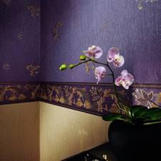 elegant und edel ? die barock tapete - Barock Tapete Wohnzimmer Weis