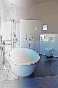 ein kleines bad gro wirken lassen. Black Bedroom Furniture Sets. Home Design Ideas