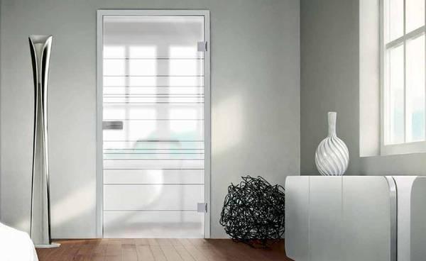 Moderne raumgestaltung mit glast ren und designb den for Raumgestaltung mit zimmerpflanzen