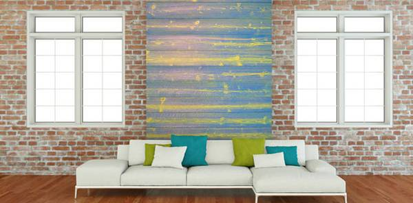 wandgestaltung mit holz und farbe kreativ und individuell. Black Bedroom Furniture Sets. Home Design Ideas