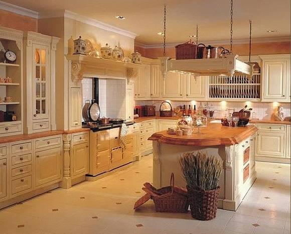 Englischer landhausstil kuche