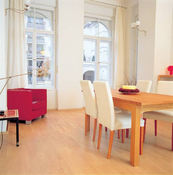 download wohnideen helles laminat | villaweb, Innenarchitektur ideen