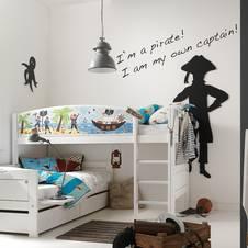 f r jedes kinderzimmer das passende wandtattoo. Black Bedroom Furniture Sets. Home Design Ideas