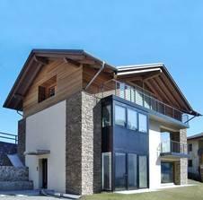 ... Oder Senkrechte Verlegung Oder Eine Kombination Aus Beidem Sorgen Für  Eine Interessante Fassadengestaltung. Bild: GD Holz E.V./Ahrntaler Farina