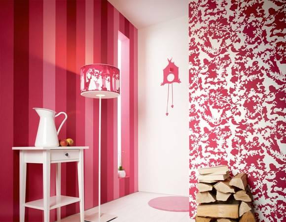 stylische tapeten bilder ideen. Black Bedroom Furniture Sets. Home Design Ideas