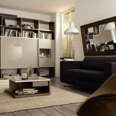 wohnen auf kleinem raum. Black Bedroom Furniture Sets. Home Design Ideas