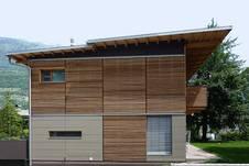 Besonders Attraktiv Ist Holz An Der Fassade, Womit Sich Ein Schönes Äußeres  Der Eigenen Vier Wände Mit Den Positiven Attributen Von Holz Vereint.