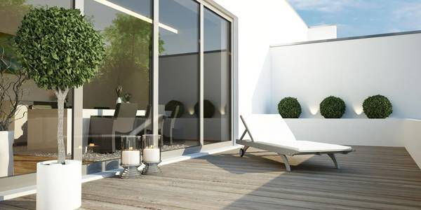 terrasse balkon. Black Bedroom Furniture Sets. Home Design Ideas