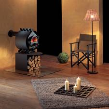 der kamin als blickfang. Black Bedroom Furniture Sets. Home Design Ideas
