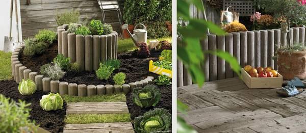 der natur abgeschaut: robuste terrassenplatten in holzoptik, Gartenarbeit ideen