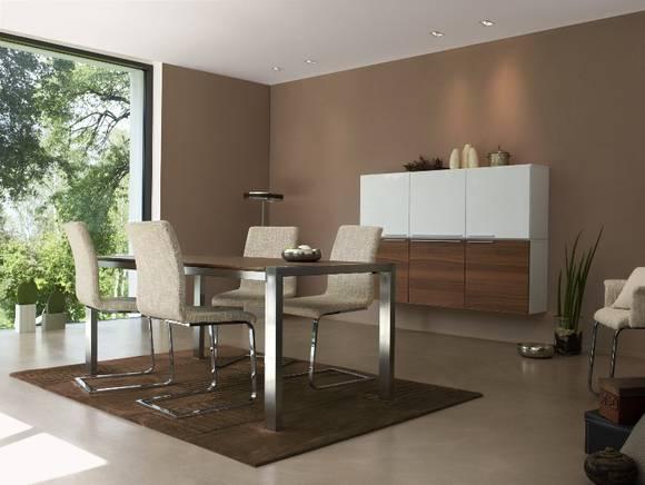 blog 1 wandgestaltung wohnzimmer braun