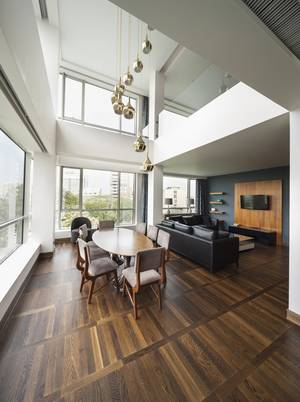 Wohnzimmer - Haus mit galerie im wohnzimmer ...