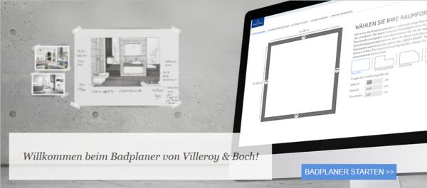 badplanung mit villeroy & boch – in wenigen schritten zum traumbad, Badezimmer