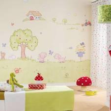 Kinder Tapete – Erlebniswelten für das Kinderzimmer