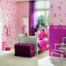 die kinderzimmer wand. Black Bedroom Furniture Sets. Home Design Ideas