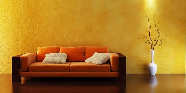 wandgestaltung - Ideen Wandbemalung Wohnzimmer