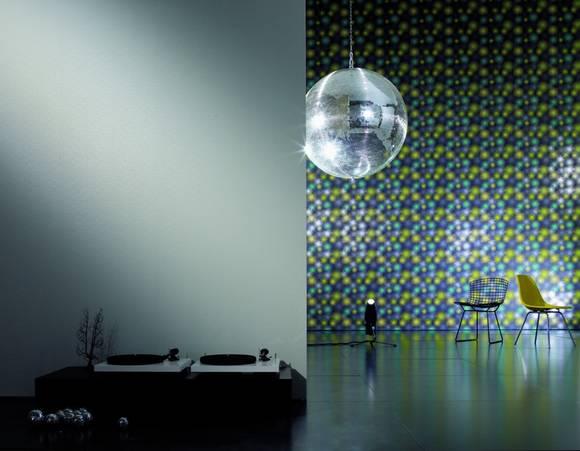 Metallic Farbe Fur Die Wand :  Metallic – bei den neuesten Trends für die Wand ist garantiert für