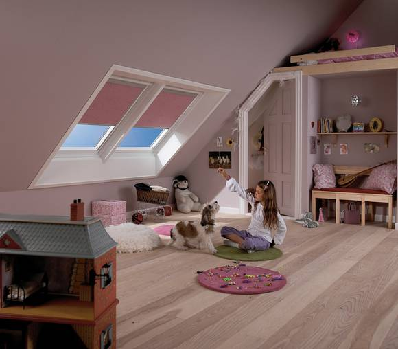 ideen dachausbau kinderzimmer h user immobilien bau. Black Bedroom Furniture Sets. Home Design Ideas