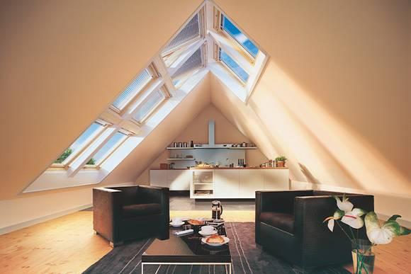 dachausbau bilder. Black Bedroom Furniture Sets. Home Design Ideas