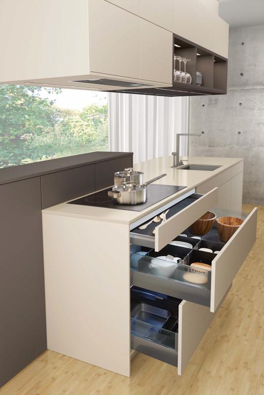 36 wundersch ne helle k chen. Black Bedroom Furniture Sets. Home Design Ideas