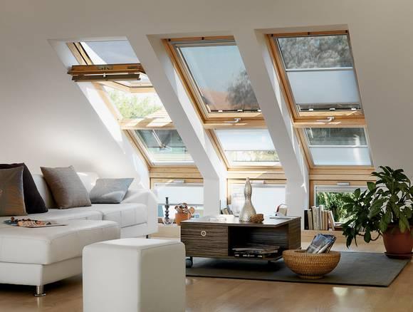home office mit dachfenster ideen bilder, dachausbau bilder, Design ideen