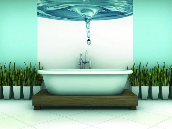 Neue tapeten bilder ideen for Badezimmer tapeten wasserabweisend