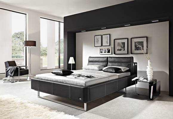 26 schlafzimmer ideen schwarz bilder best tapeten schlafzimmer ideen pictures house design. Black Bedroom Furniture Sets. Home Design Ideas