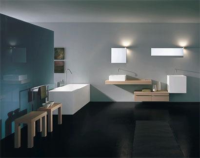 Das Bad gilt heute als Erweiterung des Wohnraumes, in dem Ruhe und ...