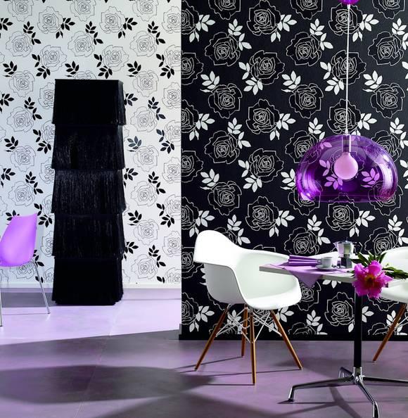 Wandgestaltung Mit Tapeten Bilder : Wandgestaltung mit tapeten ige und originelle tapetenmuster ideen