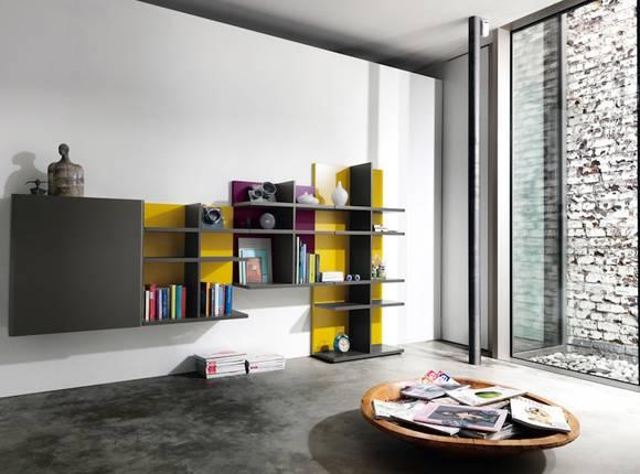 37 geniale regale. Black Bedroom Furniture Sets. Home Design Ideas