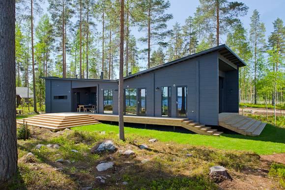 Von Der Natur Inspiriert Wurde Nicht Nur Die Außergewöhnliche Dachform Des  Modells Lokki. Die Optimale