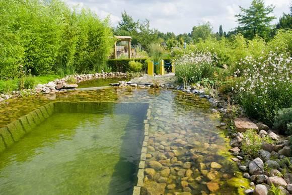 48 Gartenideen Mit Pool Und Teich