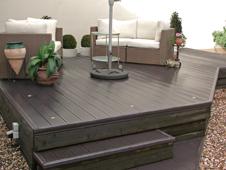terrassenbelag aus wpc. Black Bedroom Furniture Sets. Home Design Ideas