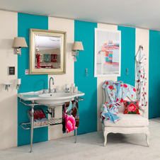 Aqua Culture Badezimmer - Die richtigen Farben im Bad verwenden