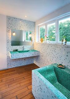 Fliesen f rs badezimmer die richigen farben und muster for Muster badezimmer bilder