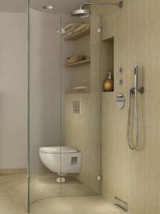 praktischer duschablauf f r bodengleiche duschen in der wand. Black Bedroom Furniture Sets. Home Design Ideas