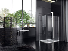 badezimmer innenarchitektur planen mit dem neuen duschwandsystem. Black Bedroom Furniture Sets. Home Design Ideas