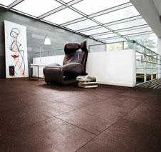 ein boden wie aus leder. Black Bedroom Furniture Sets. Home Design Ideas