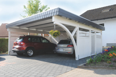carport baukasten systeme als sicherer unterstand f r das auto. Black Bedroom Furniture Sets. Home Design Ideas