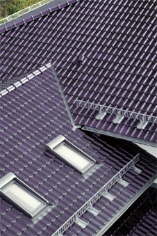 Sturmsicheres dach for Badideen unterm dach