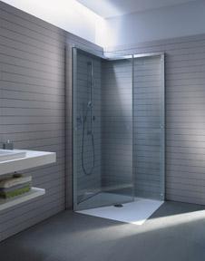 duschkabinen und duschw nde zum wegklappen. Black Bedroom Furniture Sets. Home Design Ideas