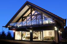 Modern Fachwerkhaus modern gestaltete fachwerk architektur