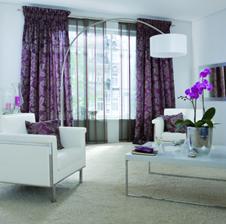 herbstliche gardinenkollektion. Black Bedroom Furniture Sets. Home Design Ideas