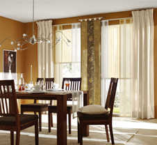 harmonische fensterdeko. Black Bedroom Furniture Sets. Home Design Ideas